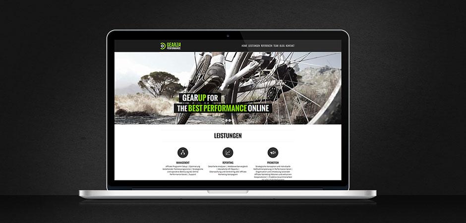 GearUP startet mit neuer Webpräsenz