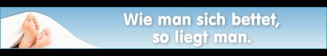 Schlafwelt Werbemittel Banner Beispiel